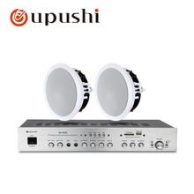 5,1 домашняя система объемного звучания bluetooth av усилитель 8 Ом usb аудио усилитель 80 Вт hifi потолочные колонки для воспроизведения MP3 музыки