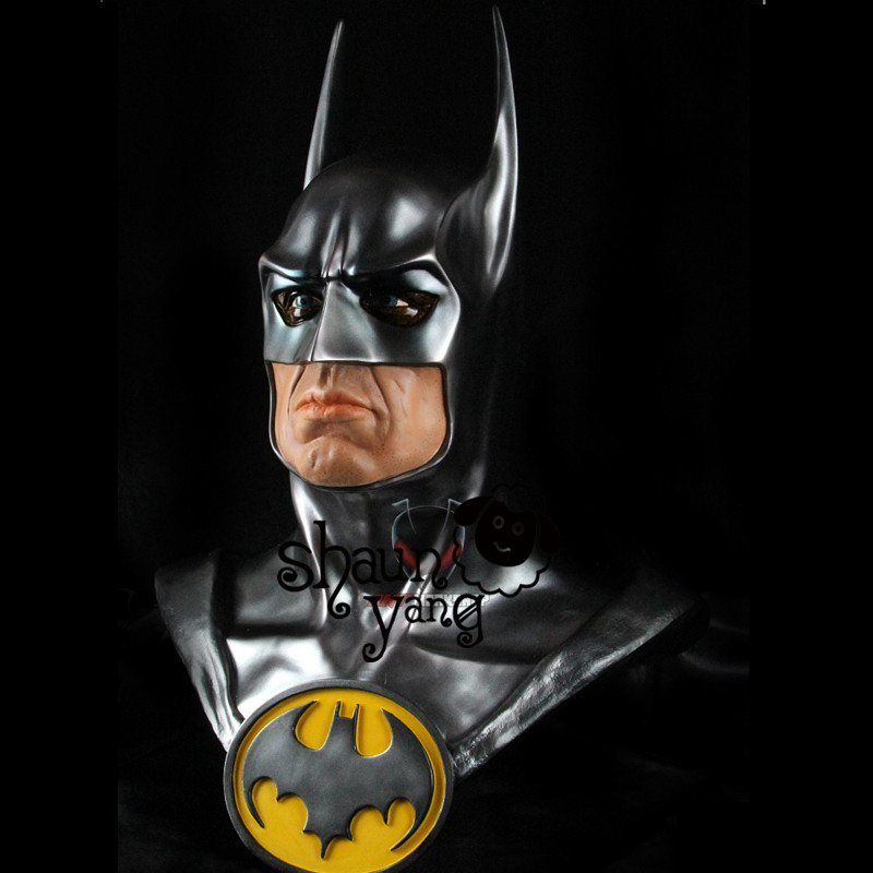 Cool The Avengers original Batman 1 1 model of the bust The dark knight statue half