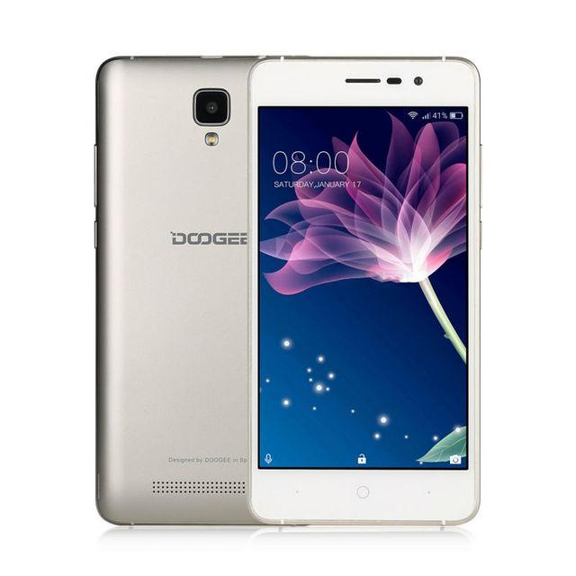 "Original Doogee X10 Smartphone 3G WCDMA 5.0"" Android 6.0 MTK6570 Dual Core Cell phones RAM 512M ROM 8GB 5MP 3360mAh Mobile phone"
