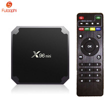 Fuloophi X96 Mini Android 7.1 TV Box 2GB RAM 16GB ROM Amlogic S905W Quad Core Set-top Boxes HDMI 2.0 HD 1080P Smart Media Player