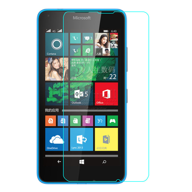 0.26mm Tempered Glass Film For Microsoft lumia 650 640 630 535 950 640 XL Screen Protector For Nokia x2 540 930 920 820 Guard 9H