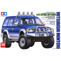 1/24 SPORT OPTIONS MITSUBISHI Montero Model Building 24124