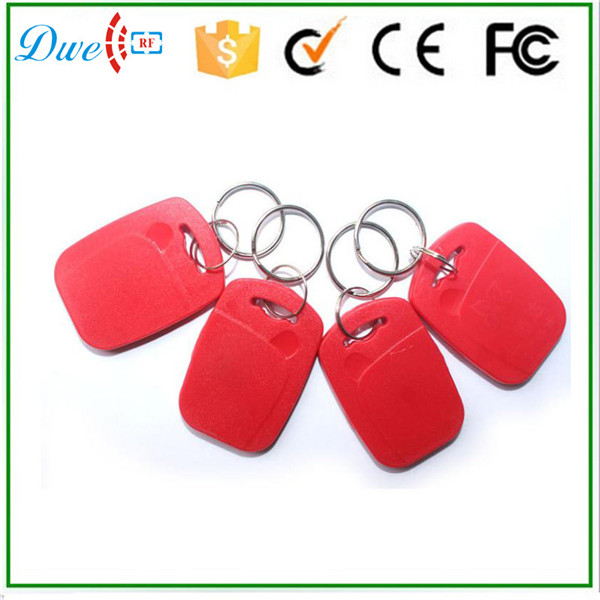 new arrival 13.56mhz s50 ABS keyfob with different color optional new
