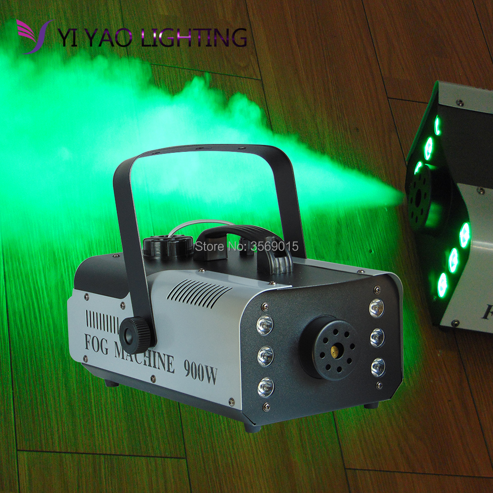 цены Super LED 900w RGB 3-In-1 Fog Machine Light Professional Stage DJ