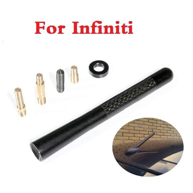 Aerial carbon fiber short radio FM antena Car Accessories for Infiniti EX FX G JX M Q Q30 Q40 Q50 Q60 Q70 QX QX50 QX60 QX70 QX80 масляный фильтр infiniti qx56 qx80 gtr