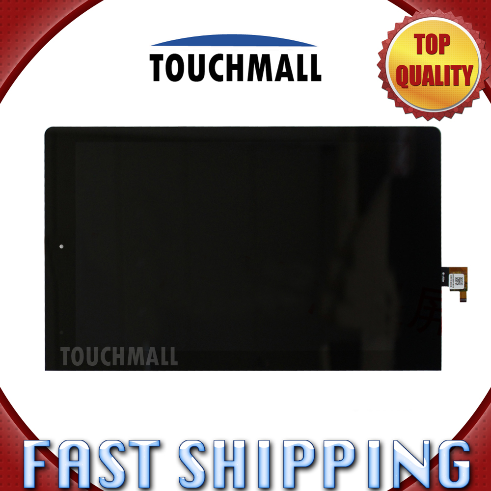 For Lenovo Yoga 10 B8000 Replacement LCD Display Touch Screen Digitizer Glass Assembly 10.1-inch Black for Tablet