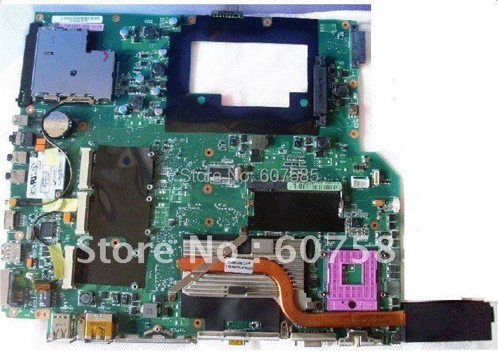 A7S Laptop Motherboard Mainboard For ASUS Fully tested all functions Work Good