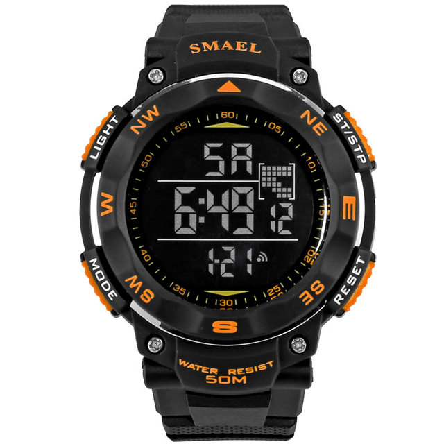 New Digital Watch Men 50m Wateproof Dive Sport Watches S Shock Men's Wristwatch Relogio Masculino LED Sport Watch DigitalWS1235