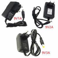 DC 9 V Volt Power Adapter Versorgung 9 V 1A 2A 3A 4A 5A Schalt AC 220 V zu 9 V DC Netzteil Adapter EU Stecker Für Led-Licht Lampe