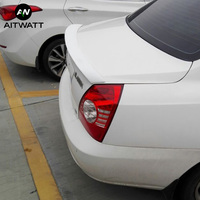 Spoiler For Hyundai Elantra 2004 2005 2006 2007 2008 2009 2010 2011 ABS Plastic Unpainted Primer Rear Roof Wing Spoiler AITWATT