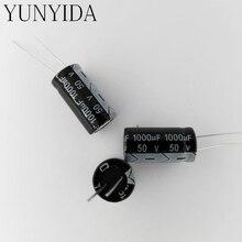 Алюминий электролитический конденсатор 50 В 1000 мкФ 10 шт.