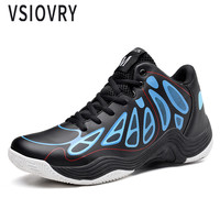 VSIOVRY   Basketball     Shoes   Men Outdoor Anti-Slip Sports Sneakers For Men   Basketball   Training   Shoes   Male Ankle Boots Basket Homme