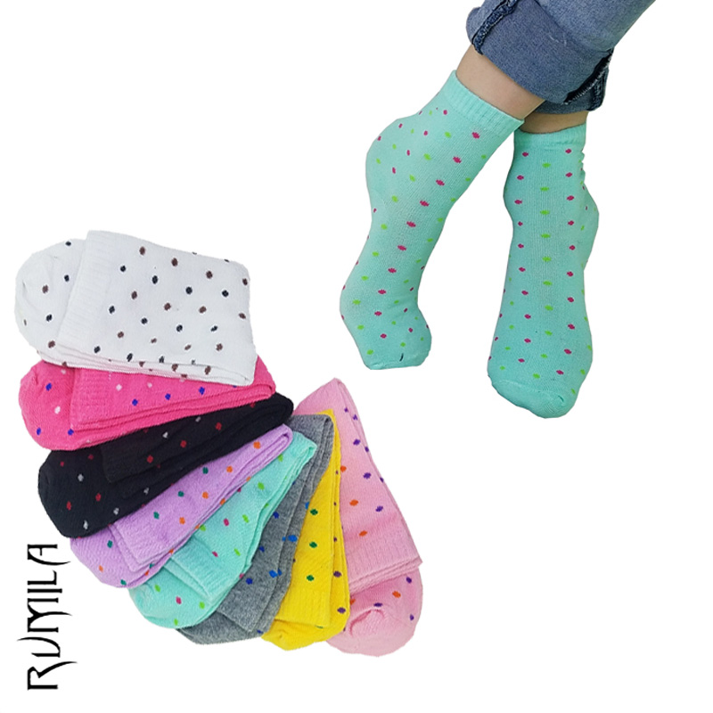 Warm comfortable cotton bamboo fiber girl women's   socks   ankle low female invisible color girl boy hosier 5pair=10pcs WS11