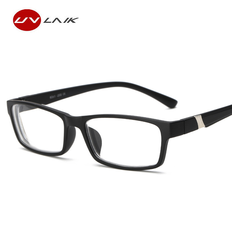 UVLAIK Moypia Eyeglasses Women Men Fashion Optical Nearsight Glasses With Degree Lenses -1.0 -1.5 -2.0 -2.5 -3.0 -3.5 -4.0