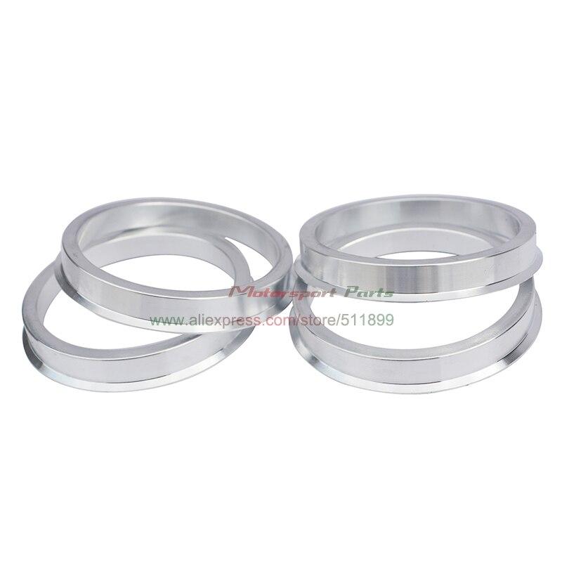 Hub centric rings Aluminum Hubrings74.1mm Wheels to 71.5mm Car Hub 4