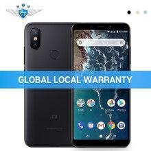 Küresel Sürüm Xiao mi mi A2 4 GB RAM 32 GB ROM Snapdragon 660 5.99 ''tam ekran Smartphone 20MP 12MP AI Çift Kamera Android Tek