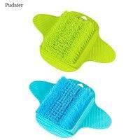 Pudaier 1pcs Bath Shower Feet Scrubber Spa Remove Dead Skin Cleaning Scrub Brushes Exfoliating Scrub Body