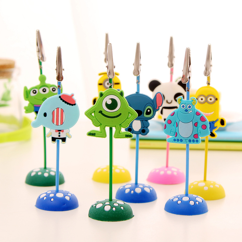1pc Diy Cartoon Shape Craft Wire Clip Desk Card Note Photo Interiors Inside Ideas Interiors design about Everything [magnanprojects.com]