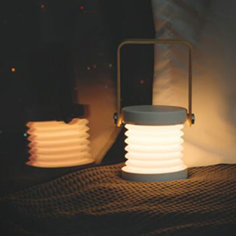 Led Night Light Foldable Touch Dimmable Reading Portable Lantern Lamp USB Rechargeable for Children Kids Gift Bedside Bedroom (9)