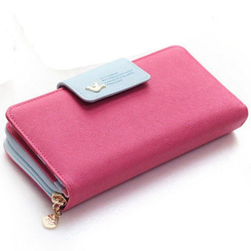 2018 Luxury Designer Famous Brands Long Women Wallets Card Holder Female Clutch Women's Purse Coin Money Bag Wallet DJZ128 1