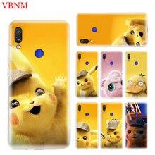Pikachue Movie Unique Phone Case For Xiaomi Redmi S2 Y3 Y2 Note 7 7S 6 5 Pro 4 4X Mi Pocophone F1 9 8 A2 lite Art Pattern Cover