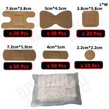 Waterproof Wound Adhesive Paste Medical Anti-Bacteria Band-Aid Wound Plaster For Home Travel Outdoor Emergency Wound Treatment
