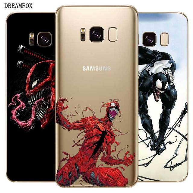 N453 Venom Soft TPU Silicone Case For Samsung Galaxy A2 Core A6 A7 A8 A9 A10 A30 A40 A50 A60 A70 A8S A9S A20E Plus