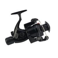 5.5:1 Black Fishing Reel Foldable Arm Rocker Lightweight Rear Drag Plastic Spool Fish Spinning Wheels New