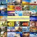 Пейзаж головоломки 2000 штук для взрослых Деревянные всемирно известные картины головоломки Развивающие игрушки для детей