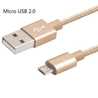 5 Packs Micro USB Charger Cable Fast Charging Data Sync Cord For Samsung Galaxy S7