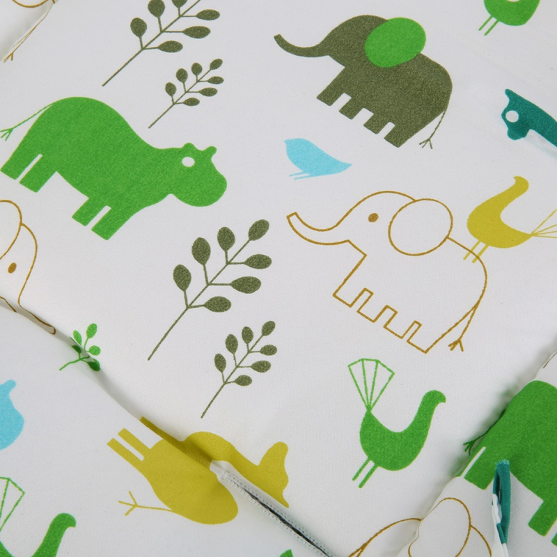 Cartoon Baby Chair Cushion Baby Stroller Baby Carriage Umbrella Stove Warm Blanket Cartoon Elephant Comtable Accessories Strollers Accessories
