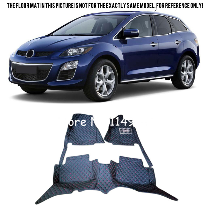 For Mazda CX-7 CX7 2008-2015 Car Styling Interior Rugs Carpet Front & Rear Floor Mats Accessories Carpets Rug