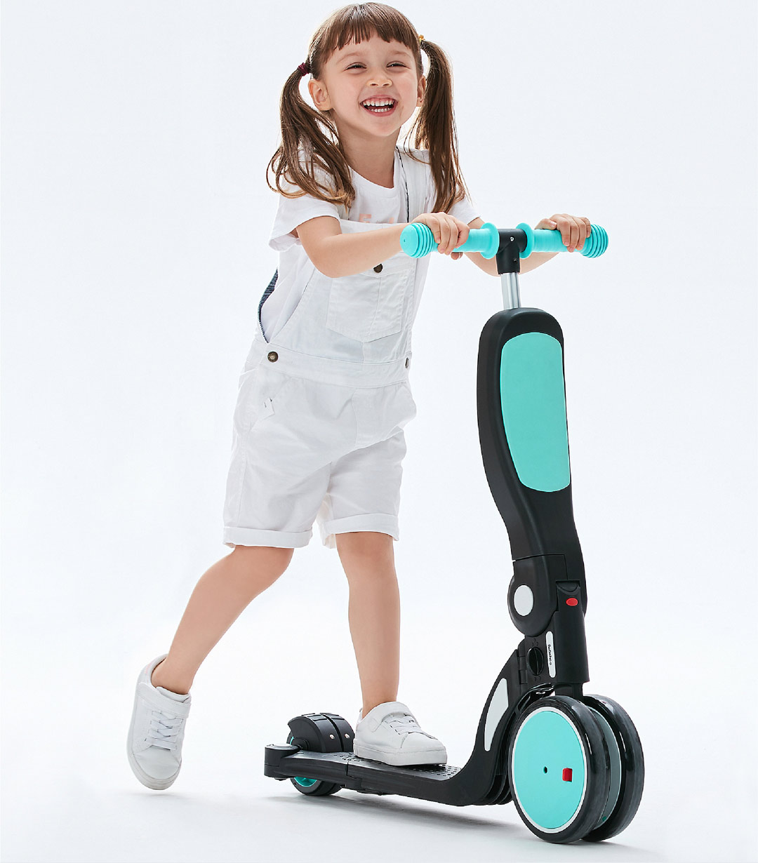 Enfants trois roues Balance vélo Scooter bébé marcheur 2-6 ans 5 en 1 multi-fonction Tricycle tour voiture jouet - 6