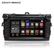 """El envío libre HD 1024*600 8 """"Android 5.11 de DVD Del Coche de Radio para Toyotaa Corolla Altis 2007-2011 WIFI gps de radio video 2 din indash"""
