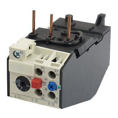 JRS2-25 5Amp 3.2-5A Protection Thermal Overload Relays 2 pin thermal overload protection