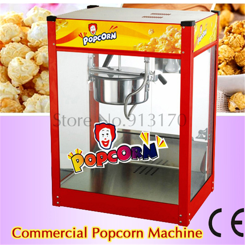 Counter Top Pop Popcorn Maker Red Style New Popper Machine Maker Popper Poping Flattop 220V pop 06 economic popcorn maker commercial popcorn machine with cart