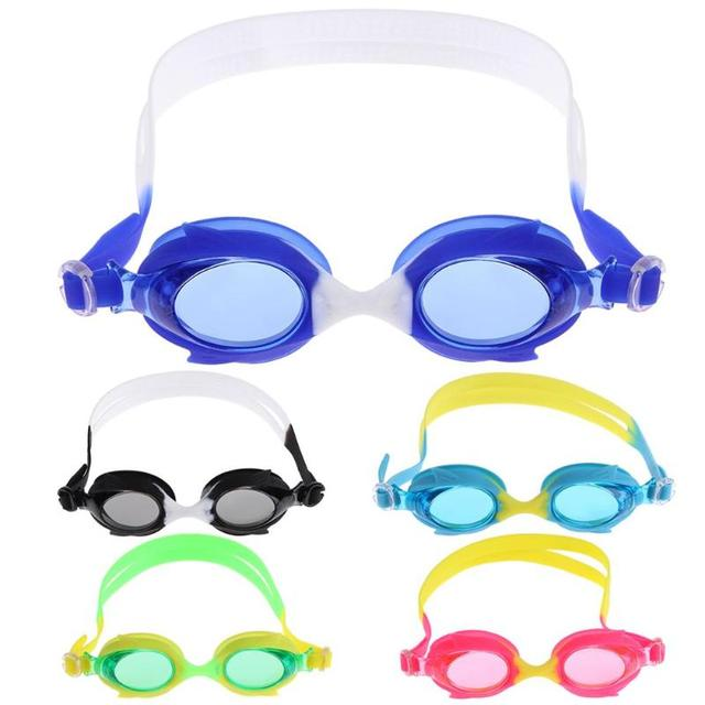678b1deba94 1 Pair Adjustable Kids Anti-fog Silicone Swimming Goggles UV Protection Children  Swim Glasses Eyewear