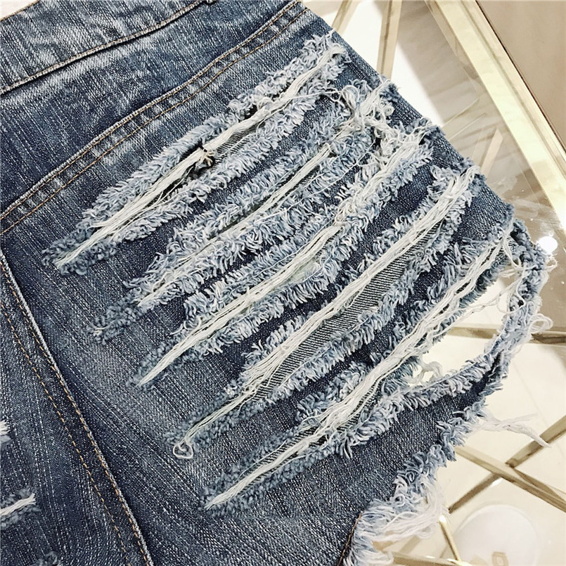 Hot New Style Summer Sexy Women Cool Hole Denim Jeans Fashion Hole Pockets Mini Shorts Jean For Women Girls 40MA07 (23)