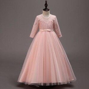 Image 5 - Новинка, Детские свадебные вечерние платья для подружек невесты, вечерние праздничные Бальные платья для девочек на день рождения, красивые вечерние платья