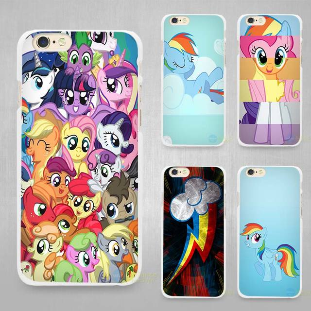 9ee5287b333f my little pony Hard White Cell Phone Case Cover for Apple iPhone 4 4s 5 5C  SE 5s 6 6s 7 8 Plus X