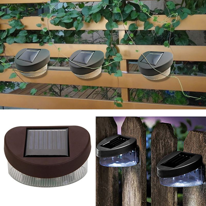 Solar fence light Solar Path Lamp Light Decoration / Courtyard / Wall Lamps 2018 Home & Garden Accessories 1