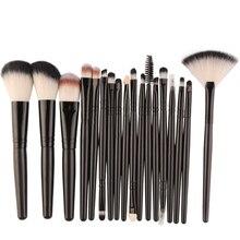 18pcs Premiuim Makeup brush set High Quality Soft Taklon Hair Professional Makeup Artist Brush Tool KitCosmetic Tool