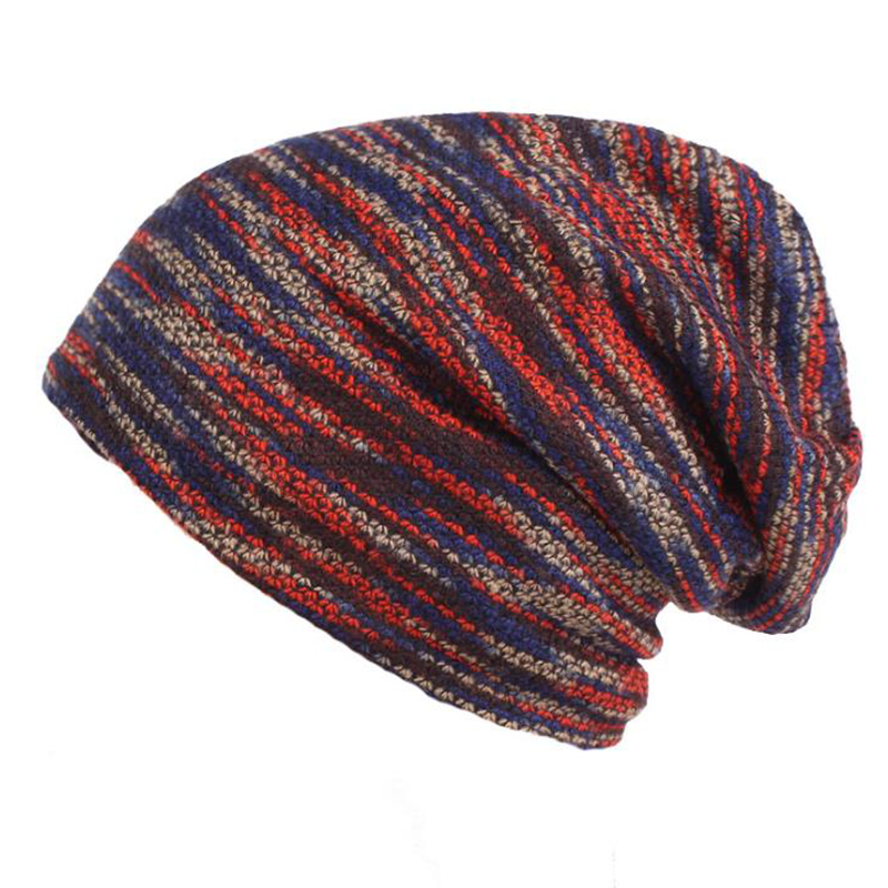Winter Beanies Collar Scarf Women or Men's Hip Hop Hats Warm with Velvet Inside  Autumn and winter plus velvet wool hat