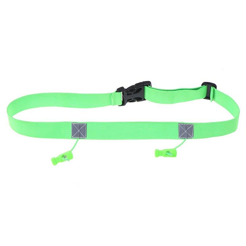 الرجال النساء الترياتلون ماراثون سباق عدد حزام تشغيل الخصر حزمة القماش مريلة حامل تشغيل حقيبة عالية الجودة