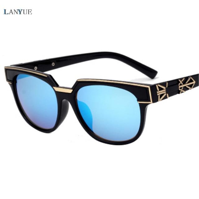2017 chaude LANYUE Marque lunettes de Soleil Polarisées Revêtement Classique  Oculos de sol Mode Lunettes Enfants efac5c8d242c