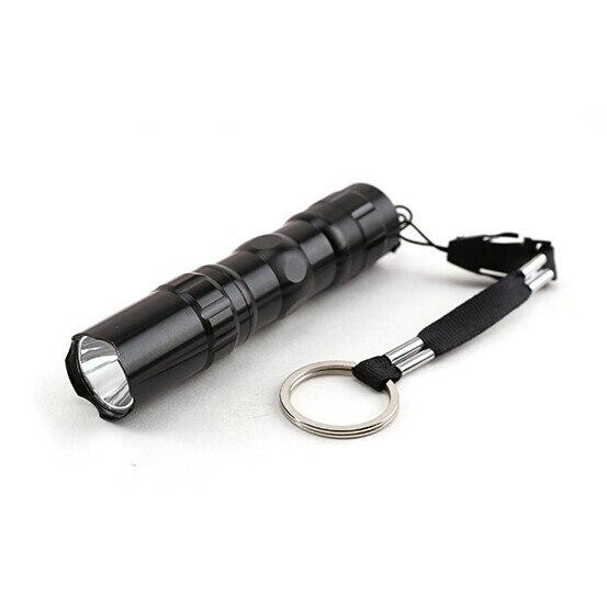 New mini LED flashlight light small waterproof belt key chain lamp
