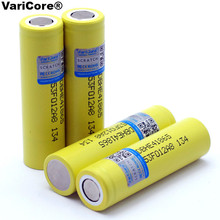 2PCS/lot Original LG 18650 he4 3.6V Rechargeable Battery 2500mAh 20A 35A high drain HE4 / lg power battery cigarette tools