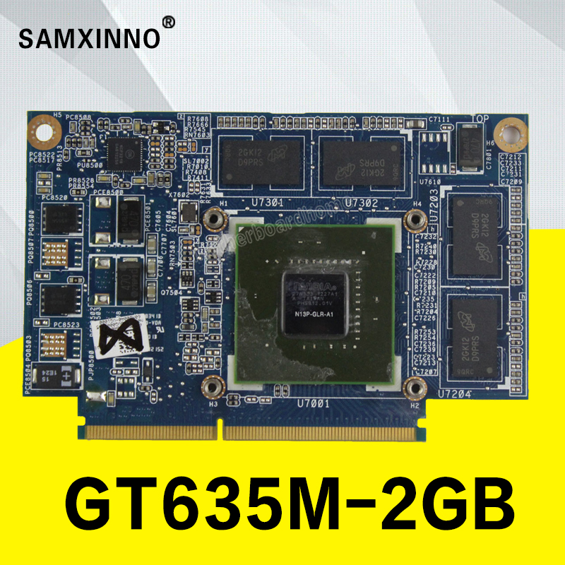 For ASUS K55VJ A55V Graphics Card GeForce GT 635 M N13P-GLR-A1 2 GB Video Card Graphics Board