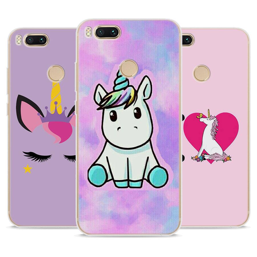 Horse Unicorn Soft Silicone Phone Case