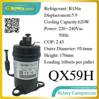 620W Cooling Capacity Fridge Compressor R134a Suitable For Commerce Chest Display